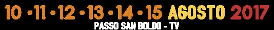 Pamali Festival - 10-11-12-13-14-15 Agosto 2017